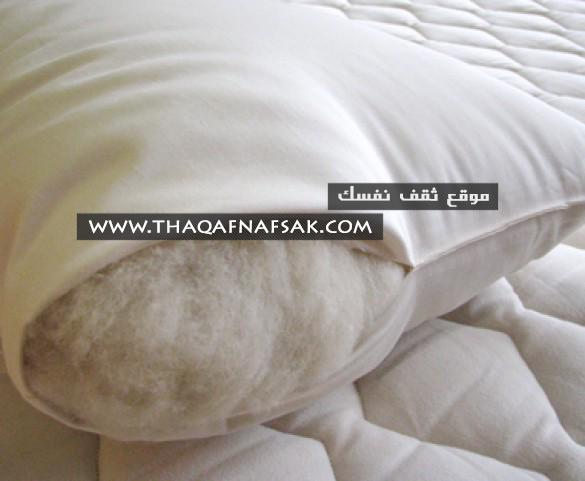 وسائد الكابوك Kapok Pillows