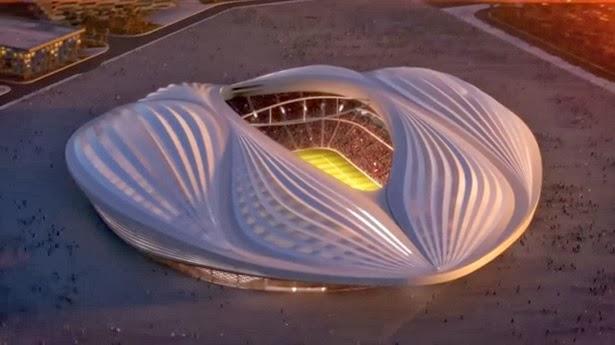استاد الوكرة كأس العالم 2022 قطر