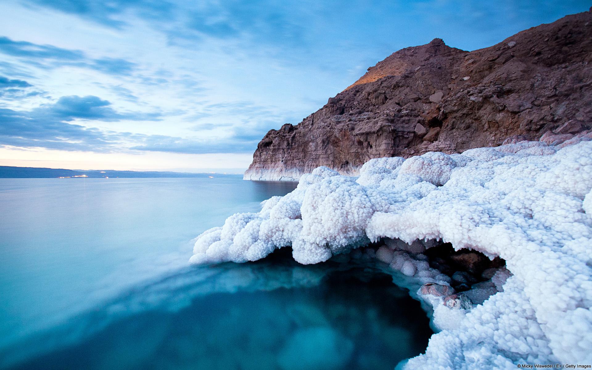 فوائد ملح البحر الميت