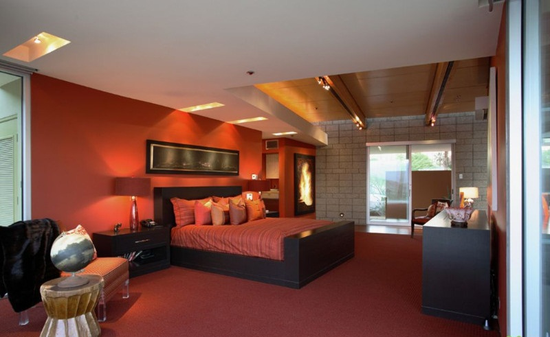 صور غرف نوم باللون الأحمر -نوم-باللون-الأحمر-بالصور17