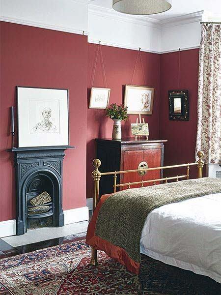 صور غرف نوم باللون الأحمر -نوم-باللون-الأحمر-بالصور20jpg