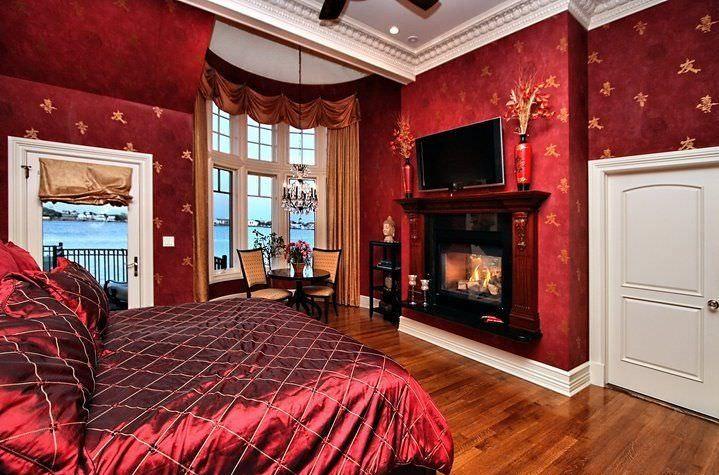 صور غرف نوم باللون الأحمر -نوم-باللون-الأحمر-بالصور3
