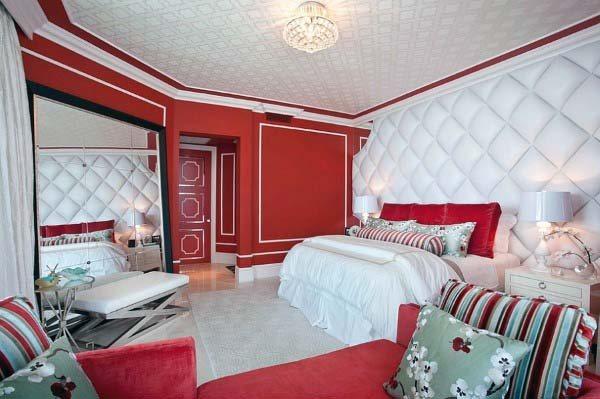 صور غرف نوم باللون الأحمر -نوم-باللون-الأحمر-بالصور32