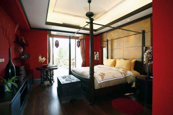 صور غرف نوم باللون الأحمر -نوم-باللون-الأحمر-بالصور33