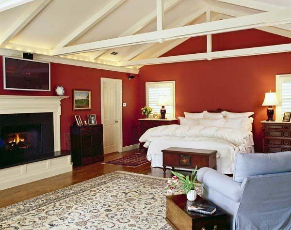 صور غرف نوم باللون الأحمر -نوم-باللون-الأحمر-بالصور35
