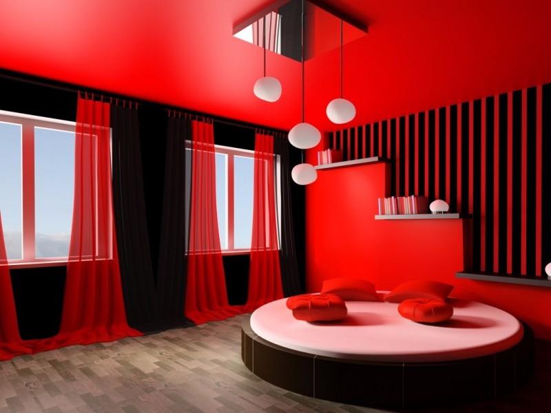 صور غرف نوم باللون الأحمر -نوم-باللون-الأحمر-بالصور47