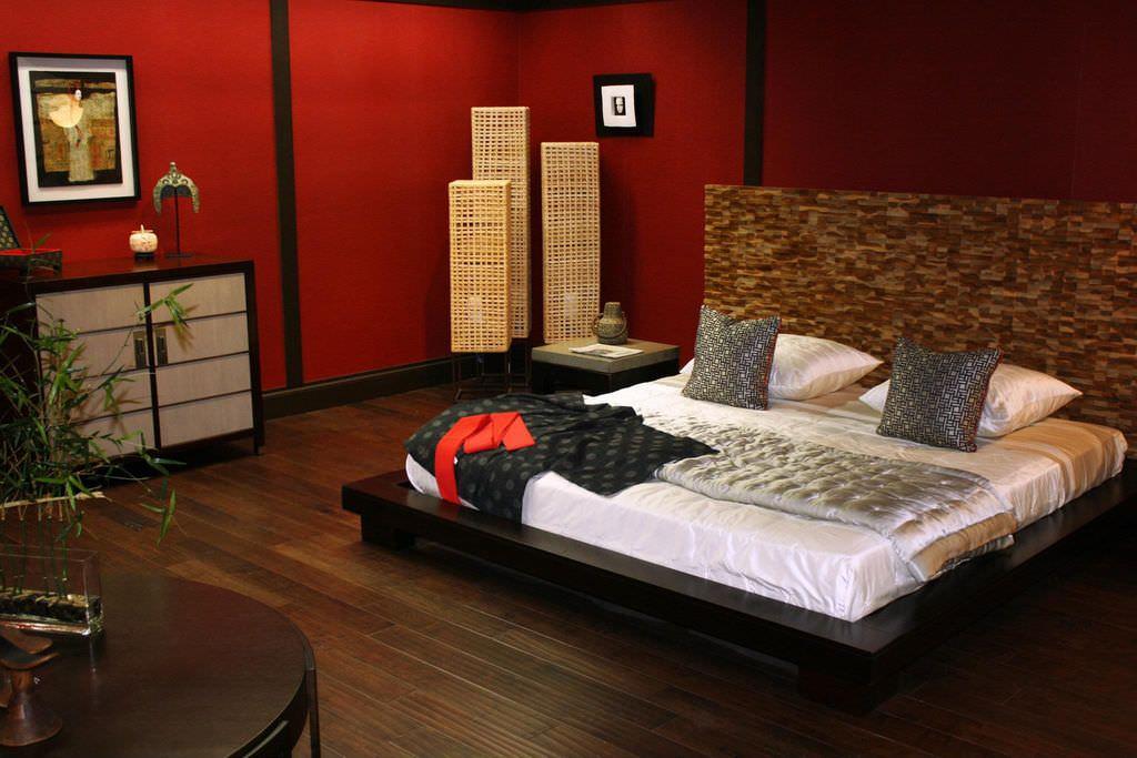 صور غرف نوم باللون الأحمر -نوم-باللون-الأحمر-بالصور8