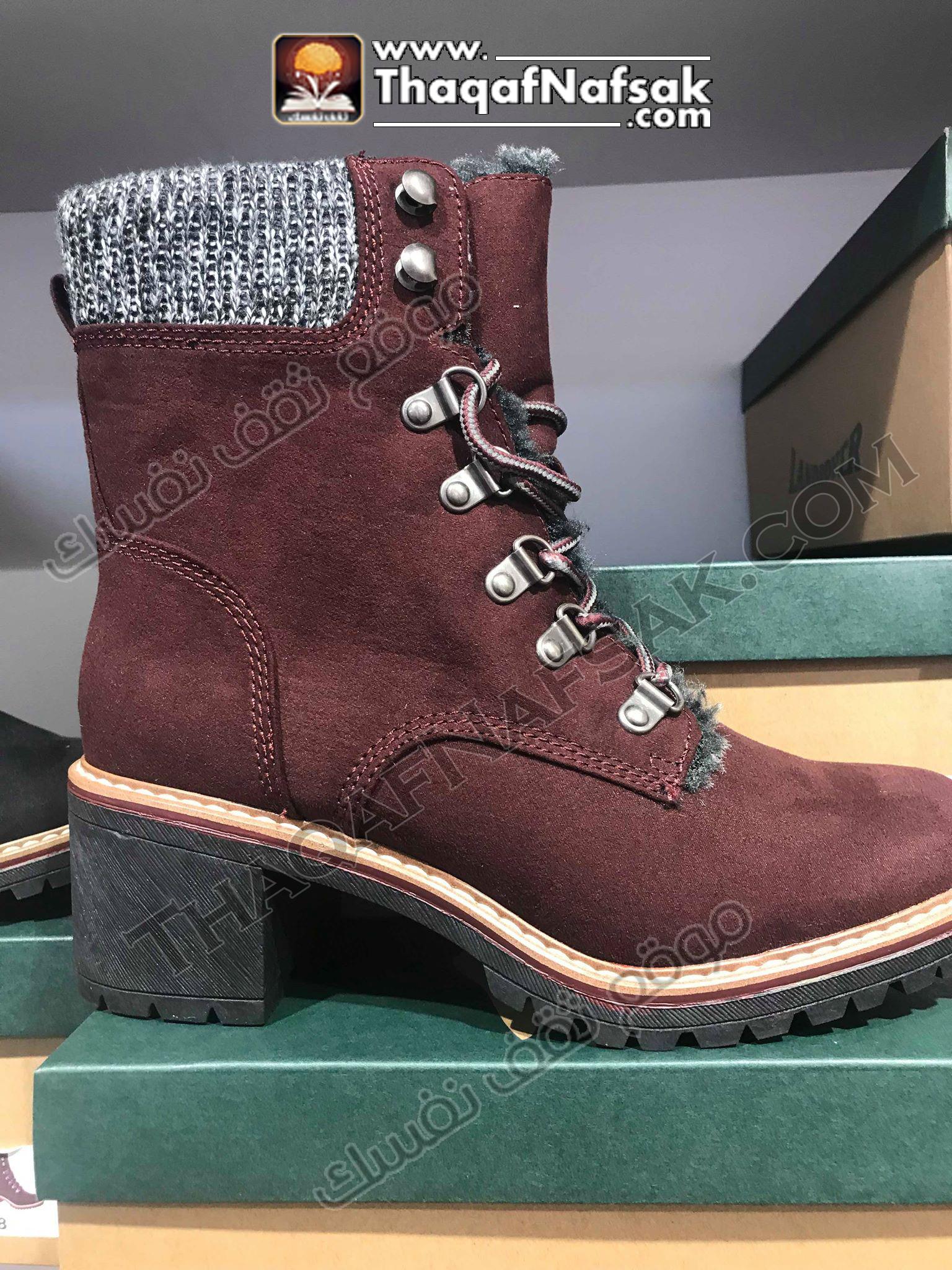 احذية العام الجديد في الشتاء
