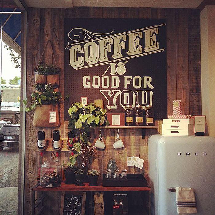 ركن القهوة