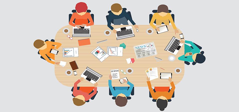 ادارة الاجتماعات