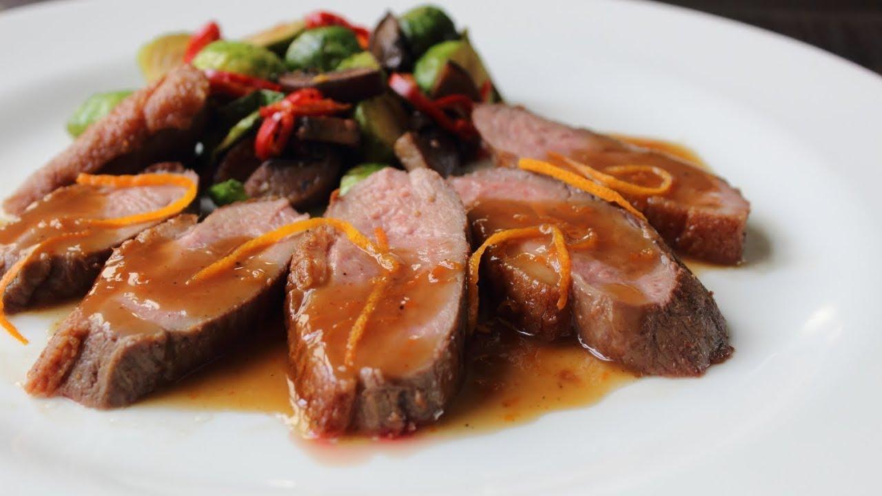 السعرات الحرارية في لحم البط