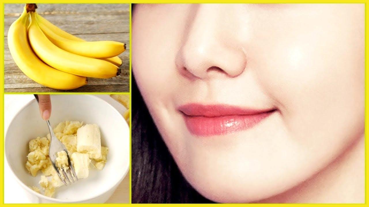 الموز للبشرة