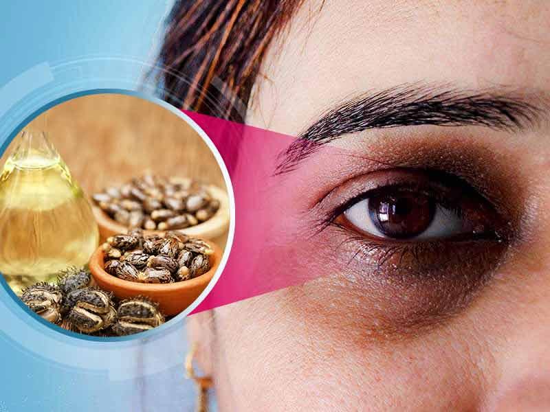 فوائد زيت الخروع للعين