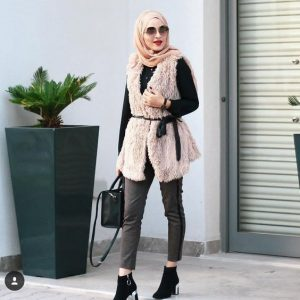 ملابس محجبات شتاء 2021