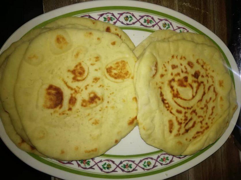 الخبز الشامي