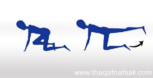 6 تمارين لتخسيس منطقة الأرداف ، ثقف نفسك 1