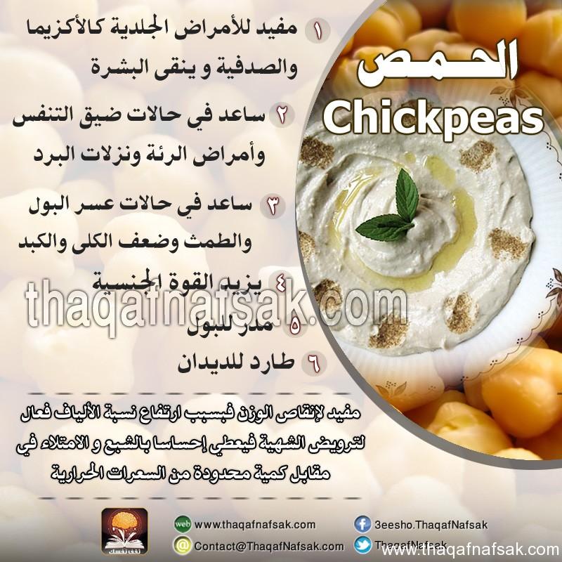 الحمص www.thaqafnafsak.com