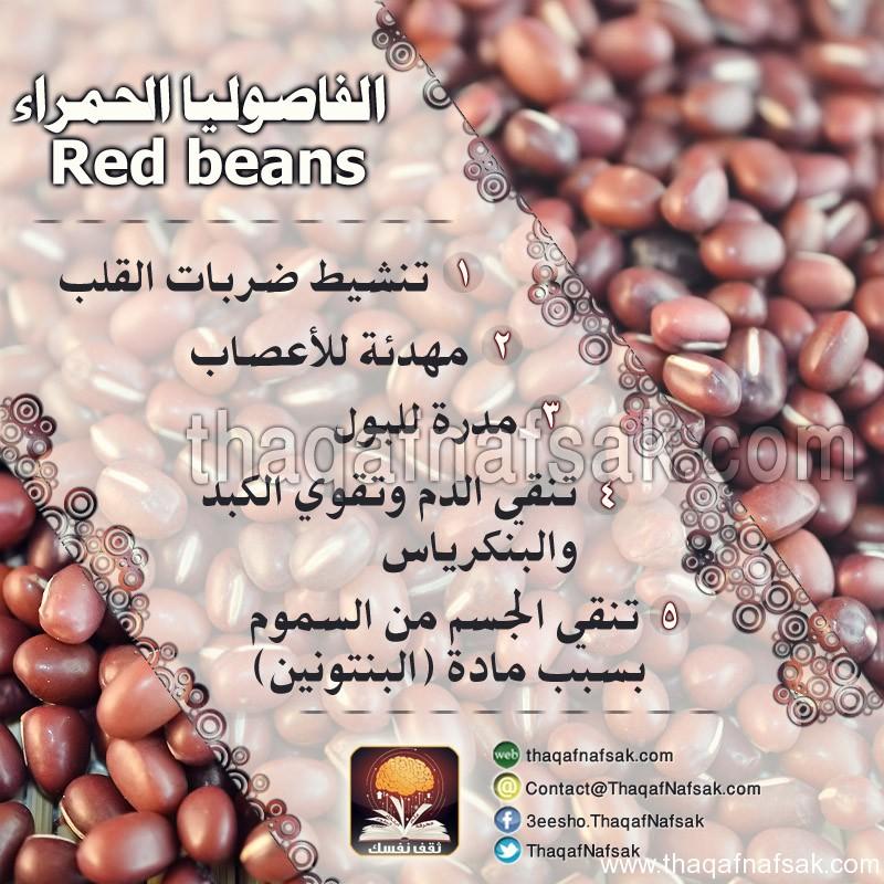 فصوليا حمراء www.thaqafnafsak.com